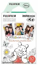 10 Fuji Instax Mini 8 Film Pooh Frame Design for Mini 25 / 90 /Mini 50s Fujifilm