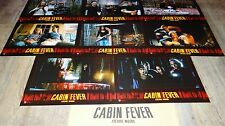 CABIN FEVER  !  jeu photos cinema lobby cards fantastique horreur