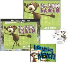 Song School Latin SET of 3-Text, Answer Key, Card Game, Classical Academic Press