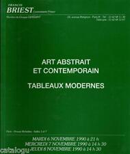 Catalogue de vente BRIEST Art abstrait tableau moderne contemporain Ero Goetz...