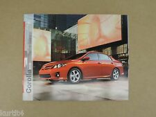 2012 Toyota Corolla L LE S sales brochure dealer catalog literature