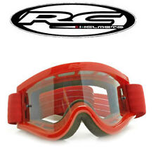 Lunette scooter moto cross marque RC Rouge / Masque NEUF type Shark Shoei Fox