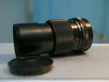 TESTED Superb Carl Zeiss Jena Red MC 135mm M42PORTRAIT LENS fits Canon,NEX,4/3.