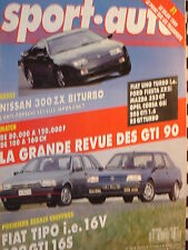 SPORT-AUTO 1989 NISSAN 300 ZX BITURBO / PRODUCTION R 21 TURBO + BX GTI + BMW M3
