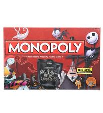 Monopoly Nightmare Before Christmas Hot Topic Exclusive Pre-Release Rare NISB!
