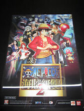 One Piece Pirate Warriors 2 3D Effect Clear Plastic Poster New Rare PS3 PS Vita