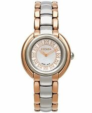NEW $554.00  Escada Ivory Two-Tone Swiss Mother of Pearl Ladies Watch E2435045