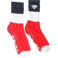 Diamond Supply Co 3 Pack Big Stripe Emblem Socks (red / white / navy)