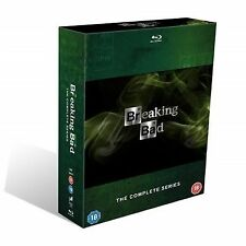 Breaking Bad - Series 1-5 - Complete (Blu-ray, 2013, Box Set) Watched Once