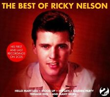 Rick Nelson- The Best of Ricky Nelson  (2 albums on 2 CD's- Ricky & All My Best)