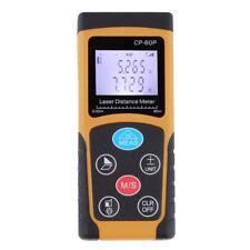 60M / 196ft Digital LCD Laser Distance Meter Range Finder Measure Diastimeter