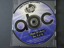 Z-ROCK CD LIBRARY-DISC 11-HARD ROCK-U2, PEARL JAM, METALLICA-NEVER PLAYED-MINT