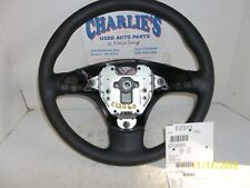 2006-2010 CHEVY HHR STEERING WHEEL BLACK OEM