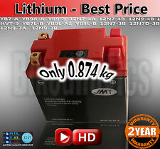 LITHIUM -Best Price- Motorcycle Battery YB9-FP JMT YB7-A YB9A-A YB9-B 12N7-4A