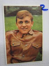 FIGURINA EDIS CANTANTI 1969 ARMANDO SAVINI NUMERO 144 NUOVA