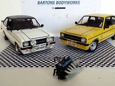 1:18 Mk1 Mk2 Escort RARE Minichamps ZACSPEED BDA ENGINE Twincam MODIFIED TUNING