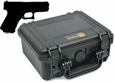 Elite EL0904 Hard case for any Pistol, gun or revolver of 8-1/2 inches or less