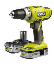 Ryobi One + perceuse combi 2 x batteries 18v lith-ion