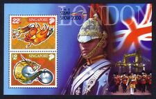 Singapore 2000 Zodiac Year of the Dragon - London Stamps Exhibition M/S