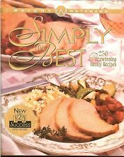 Weight Watchers Simply the Best 250 Prizewinning Family Recipes 1997 HC