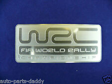 WRC World Rally Championship FIA Sports Aluminum Auto Badge metal emblem