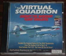 PC CD.. The Virtual Squadron. Aircraft for Microsoft Flight Simulator 5.X