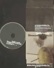 UNDERWORLD Dinosaur  Adventure 3D 4 track CD NEW 2003