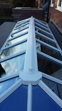 Roof lantern skylight - upvc glazed - Conservatory/flat roof assembly 1100 x 800