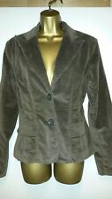"NEW WITH TAGS F&F MOLE SKIN BROWN BLAZER JACKET SIZE 16 34"" CHEST"