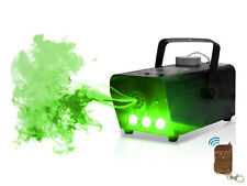 GREEN LED WIRELESS SMOKE / FOG MACHINE 400W DJ DISCO LASER LIGHT CLUB FOGGER PUB