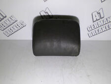 VW GOLF MK5 R32 GTI 2004 - 08 REAR CENTRE MIDDLE HEADREST LEATHER BLACK