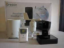 OREGON SCIENTIFIC lw301 KIT ovunque meteo Vento Pioggia Temp Smartphone APP