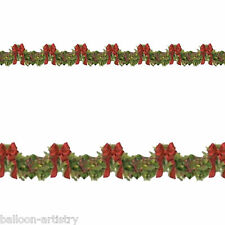 Christmas Party Scene Setter Add on's Boughs of Holly Banner Decoration