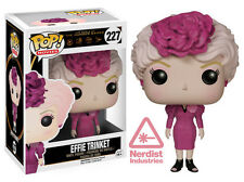 FUNKO POP MOVIES WORLD OF HUNGER GAMES EFFIE TRINKET #227 NEW IN BOX #6186