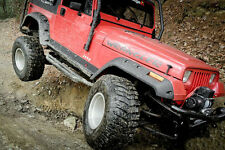 "1987-1995 Jeep Wrangler 6"" Wide Pocket Fender Flares Flare Kit"