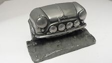 Mini Cooper Works Rally Pewter Effect Car Business Card Holder