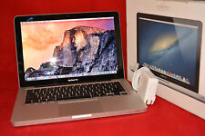 APPLE MACBOOK PRO 13 2.9GHz  I7 4GB RAM 750GB HDD Yosemite OS & Win 10 Pro