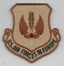 "USAF Patch United States Air Forces in Europe (DEPLOYED), 3"" Flight Suit Size"