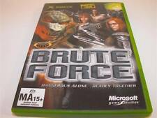 Brute Force XBOX Original PAL Preloved *Complete*