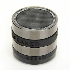 Bluetooth Cassa Altoparlante Speaker Grigio 10mt 32GB per MP3 MP4 PC