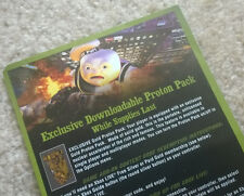 "Ghostbusters Video Game ""Gold Proton Pack"" VOUCHER CARD + download code Xbox 360"