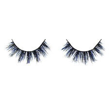 Xtreme Real Mink Color (Blue and Black) Eyelashes Lashes