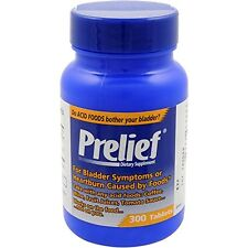2 Pack Prelief Dietary Supplement for Bladder Symptoms 300 Tablets Each