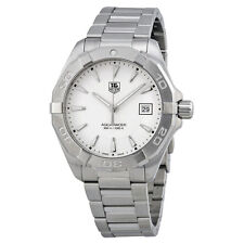 Tag Heuer Aquaracer Silver Dial Stainless Steel Mens Watch WAY1111.BA0910