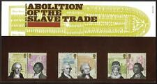 GB 2007 ABOLITION OF THE SLAVE TRADE PRESENTATION PACK NO 396