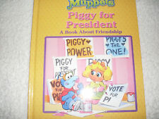 Kids new hardcover:Jim Henson's Muppets Piggy for President-Book About Friendshi