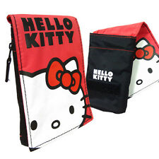 Stylish Cute Red Hello Kitty Pouch For Samsung Galaxy S3 Mini / NEW