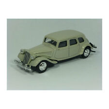 Norev 319201 Citroen Traction 15-Six hellgrau - Retro Modellauto 1:64NEU! °