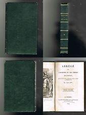 Abrégé de l´histoire du bas empire - De Lebeau - 1819 - 432 pages