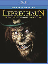 Leprechaun The Complete Movie Collection [Blu-ray + Digital HD] New DVD! Ships F